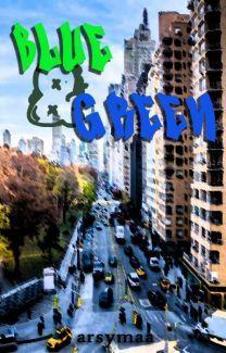 BLUE & GREEN (5SOS) oleh arsymaa