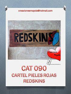 Creaciones Mayola: CARTEL PIELES ROJAS, CARTEL REDSKINS, CARTELES IND...