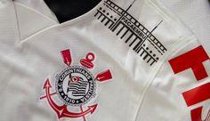 "Corinthians special shirt for the ""last game"" at Pacaembu   #Camisa #Corinthians #Pacaembu (Foto:  Daniel Augusto Jr/Agência Corinthians)"