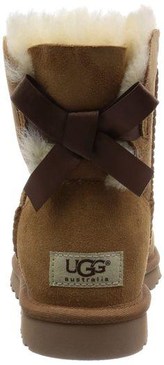 Amazon.com: UGG Australia Womens Mini Bailey Bow Boot: Clothing