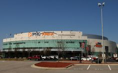 PNC Arena, Raleigh NC  My home away from home during hockey and basketball season.  #carolinahurricanes  #ncstate