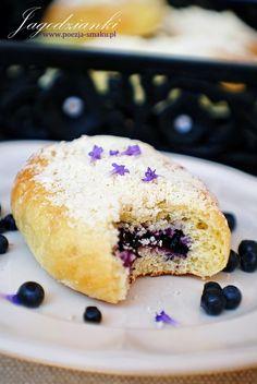 "Jagodzianki ! / Blueberry buns ""jagodzianki"" (recipe in Polish)"