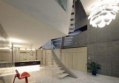 japanese home - concrete walls