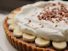 Chocolate Banana Cream Pie Recipe | Ina Garten | Food Network