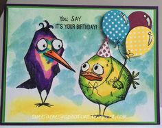 You Say It's Your Birthday! by Sweet Irene - Cards and Paper Crafts at Splitcoaststampers