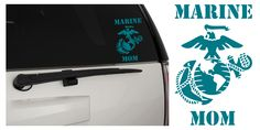 United States Marine Corps Proud Mom EGA Matte In/Outdoor Vinyl Decal Sticker, MultiPurpose - For Your Auto, Wall, Window and More!  Purchase this product along with all of our other spectacular decals through one of the following links:   https://www.etsy.com/shop/MiaBellaDesignsWI  http://www.amazon.com/s?marketplaceID=ATVPDKIKX0DER&me=A2MSEOIVL689S1&merchant=A2MSEOIVL689S1&redirect=true