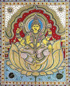 Ancient Indian Art, Indian Folk Art, Kalamkari Painting, Madhubani Painting, India Painting, Fabric Painting, Indian Art Paintings, Fashion Painting, Tribal Art