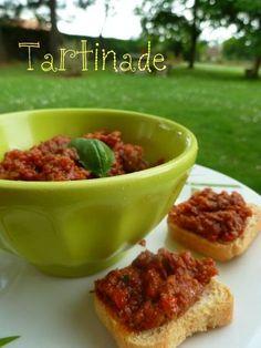 La tartinade provençale de Choupette82 Savory Snacks, Healthy Snacks, Healthy Recipes, Hummus, Healthy Food Alternatives, Buffet, Seafood Appetizers, No Salt Recipes, Creative Food