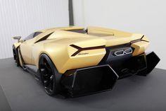 Lamborghini Cnossus Super Car Concept