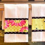 Diversos tutoriais para panos de prato e toalhas de cozinha