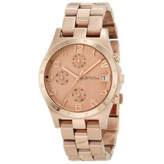 Marc by Marc Jacobs Ladies Henry Chronograph Watch