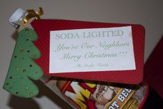 Here are 25 of my favorite Neighbor Gift Ideas I'm using this Christmas. I either came up with the ideas on my own or got the ideas from Pinterest. I printed out all the sayings on my compu…