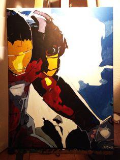 Iron Man acrylic
