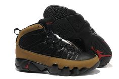 new arrival d8ed5 b7263 Cheap Original Nike Air Jordan 9 Phat Retro   Olive   Black And Light  Olive-True Red Sneaker Online Outlet Store