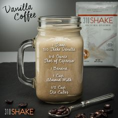 Vanilla Coffee Meal Replacement shake