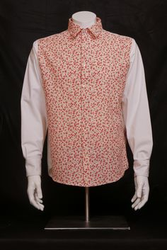 Farewell Of The Red Sailor  male shirt.  Strong Cotton. Size M   WILL ELLE collection, SYSI design