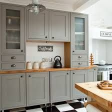 Love this colour and top! b&q carisbrooke taupe kitchen