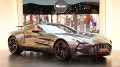 One of Seven Aston Martin One-77 Q Series A very rare Aston Martin One-77 Q Series...