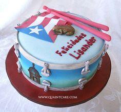 Puerto Rico People | puerto rico drum cake | Flickr - Photo Sharing!