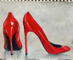 Shhhh....It's a SECRET SHOW! Red Stilettos (Pre-New Year's Eve Painting Tutorial) Unlisted LIVE show FRIDAY Dec. 30th at 5pm CT. https://youtu.be/OebD6mOcDas Hope you can be there. You are welcome to share the link with friends who might want to come. Should be a quick painting took about an hour. :)