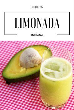 Limonada Indiana    Essa bebida feita com suco de limão, abacate e manjericão é simplesmente surpreendente. Faça na sua casa esse suco refrescante e delicioso.    Confira a receita!