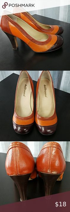 Caramel Tan Light Brown KEN Loafers Casual Shoes Faux Lace Up Genuine BARBIE