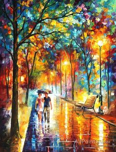 Leonid Afremov Inside The Dream oil painting reproductions for sale