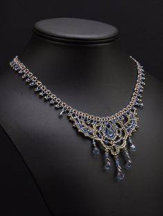 Slaying Dragons: A Beadwoven Necklace. - very pretty