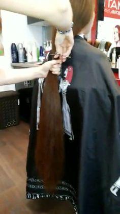 Long Hair Cuts, Long Hair Styles, Brunette Haircut, Rapunzel Hair, Cut Off, Hairdresser, Barber, Her Hair, Ponytail
