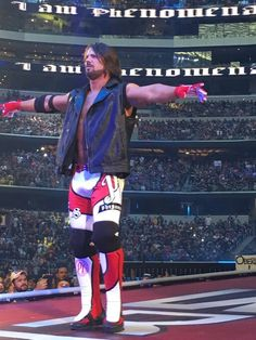 AJ Styles at his very first wrestlemania