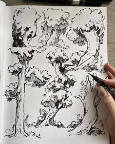 Illustration Courses, Illustration Art, Background Drawing, Basic Drawing, Watercolor Plants, Art Prompts, Nature Drawing, Ink Illustrations, Pen Art