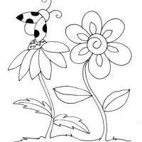 disegni pasqua colorare fiore