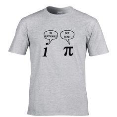 Be ration! Get real! Mathematic joke t-shirt