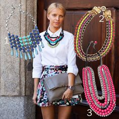 Street Chic: Colorful Necklace