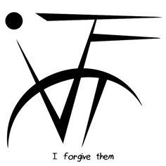 """""""I forgive them"""" sigil @silver-bae"""