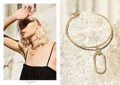 VISTA takes us back to the solitude of long summer holidays where the simplicity of daily life discovering wide open spaces paves the way for the nostalgic deta Collections Photography, Open Spaces, Oval Pendant, Solitude, Ring Earrings, Solid Brass, Jewelry Collection, Hair Makeup, Campaign