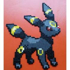 Umbreon Pokemon hama beads by robbertvd