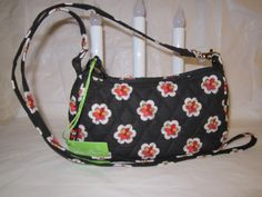 Vera Bradley Amy in Pirouette pattern - small crossbody convertible hipster bag - NWT Retired VHTF