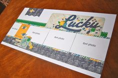February 2014 Super Saver layouts by Debbie Sanders Scrapbook Layout Sketches, Scrapbook Templates, Card Sketches, Scrapbook Paper Crafts, Scrapbooking Layouts, Scrapbook Designs, Paper Crafting, Baby Scrapbook, Travel Scrapbook