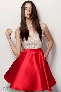 18b214656e959 JVN Dress JVN63850 Plus Size Prom Dresses, Homecoming Dresses, Short Dresses,  Formal Dresses