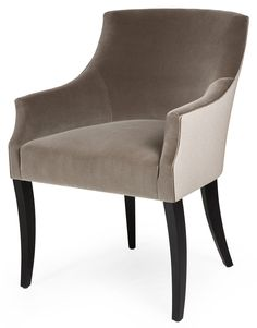 Elliot Carver - Dining Chairs - Collection: The Sofa & Chair Company - we manufacture some of the most beautiful upholstered furniture in London. Cool Furniture, Furniture Design, House Furniture, Sofa And Chair Company, Ferrat, Dining Room Chairs, Lounge Chairs, Furniture Hardware, Upholstered Furniture