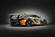 the 1000 horsepower mclaren P1 GTR design concept unveiled