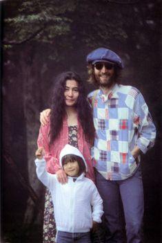 John, Sean, and Yoko in Karuizawa | by Yoko Ono official