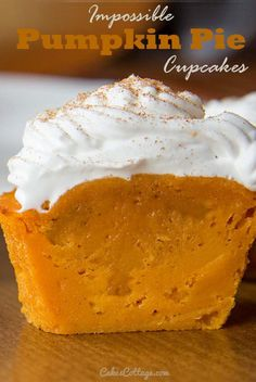 Pumpkin Pie Reinvented: 7 unique pumpkin recipes plus Pumpkin Pie Cupcakes. They all look delicious!