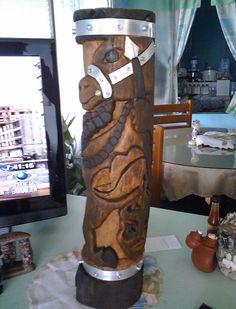 Escultura en Madera Los Lanceros con incrustaciones en acero inoxidable. Repurposed Wood, Teamwork, Stainless Steel, Urban Art, Sculptures