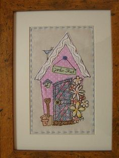 Shed Applique Picture