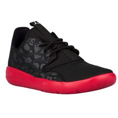 Nike Air Jordan Eclipse black came and red sole running shoe