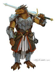 m Dragonborn Fighter Heavy Armor Longsword Flail Dagger Potion pouch male urban City lg Dungeons And Dragons Art, Dungeons And Dragons Characters, Dnd Characters, Fantasy Characters, Fantasy Character Design, Character Design Inspiration, Character Concept, Character Art, Dnd Dragonborn