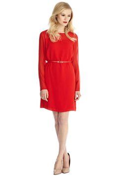 Red dresse - Oasis - Alana Shift Dress