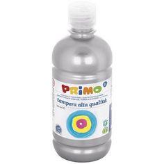 Primo ezüst színű tempera festék 500 ml PET palackban - Szín 910 Ft Ár 1,190 Tempera, Petra, Water Bottle, Cousins, Water Bottles